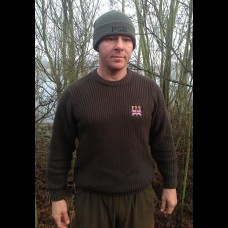 PSB Chunky Woodland Green Knitted Jumper