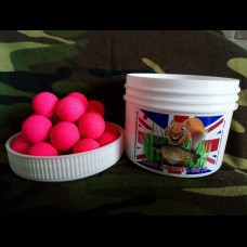 SS4 DEEP FLOURO 16mm  PINK POP UPS